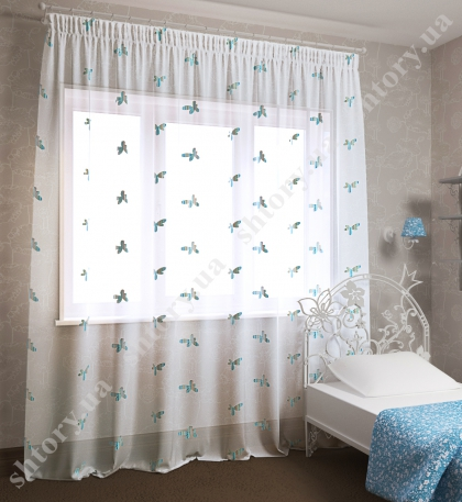 Тюль для детской 66001
