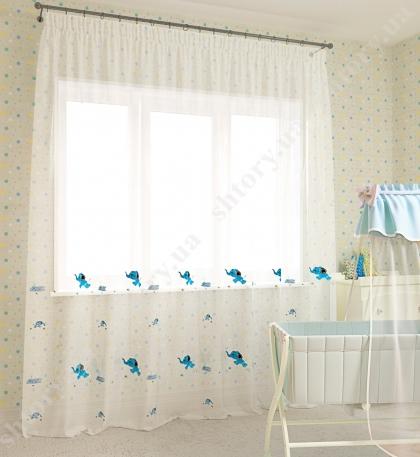 Тюль для детской 66002