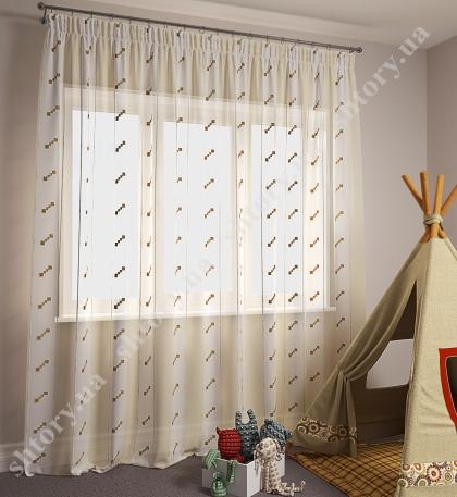 Тюль для детской 66015