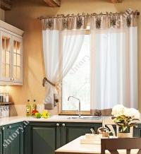 Шторы на кухню - готовые комплекты