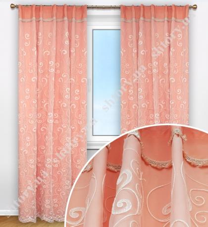 Комплект штор дизайнерская, французкий стиль