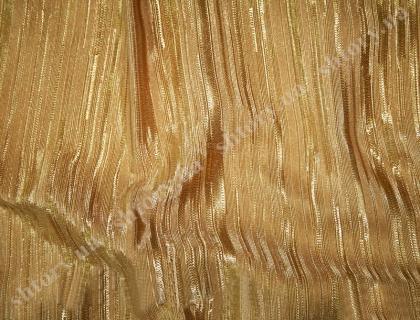 Золотистая штора из вискозы