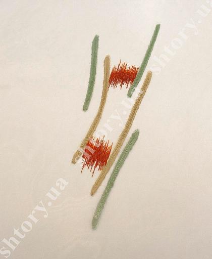 Тюль с абстрактным рисунком