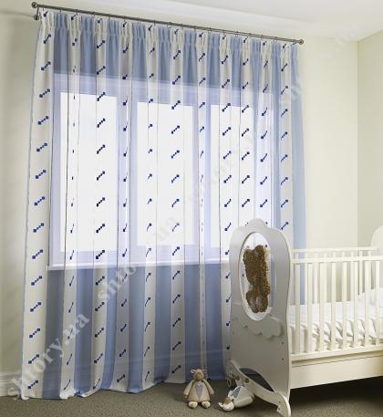 Тюль для детской 66014